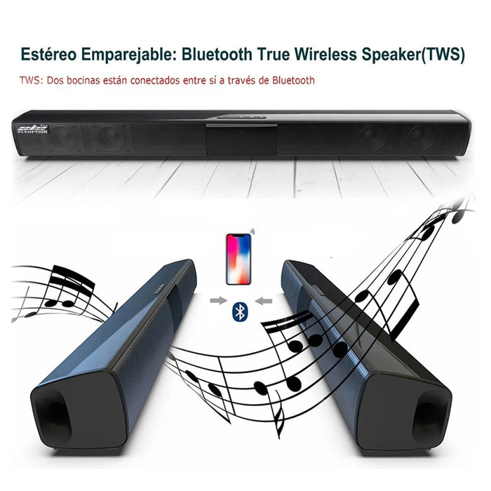 Music Stereo Home Theater Portable Sound Bar
