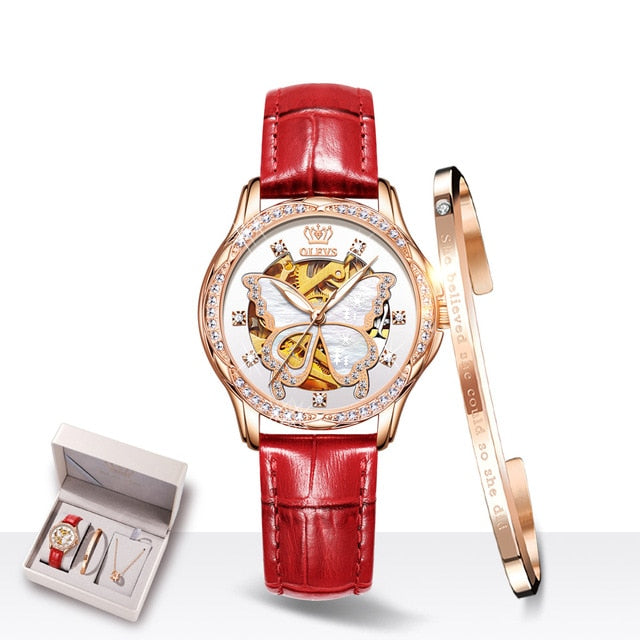 Switzerland Luxury Brand Ladies Wrist Watch