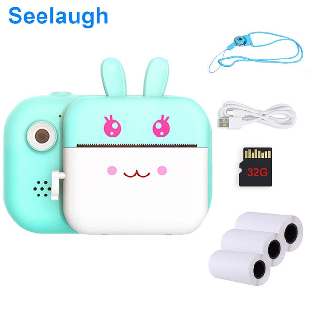 Kids 32GB Instant Camera For Children