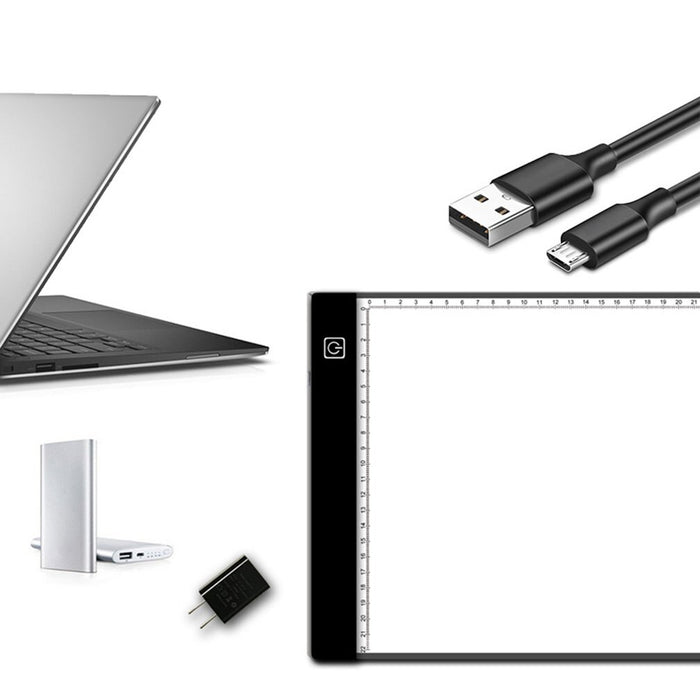 LED Drawing Tablet Digital Graphics Pad