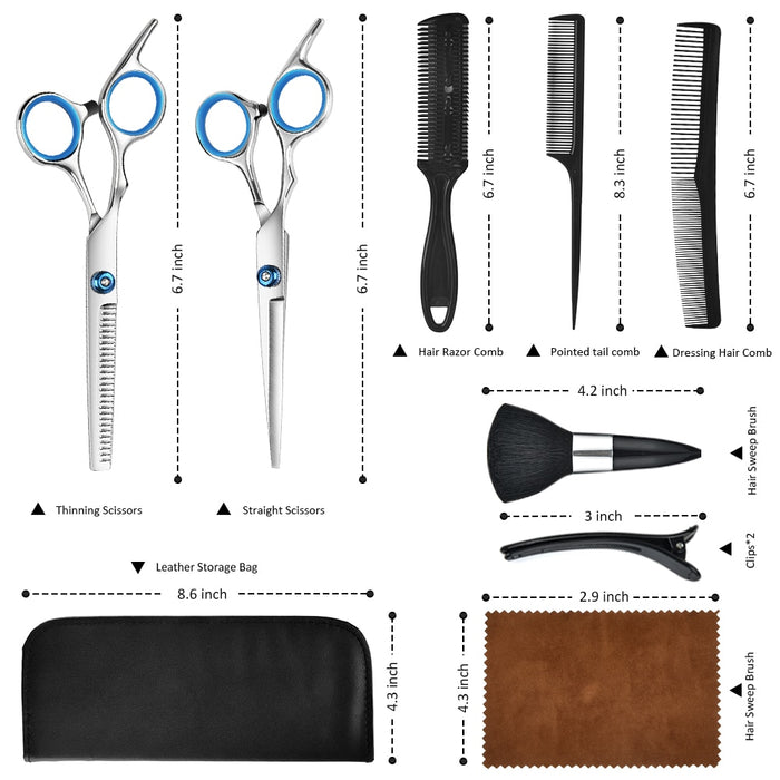 Beard Barber Scarf Tools