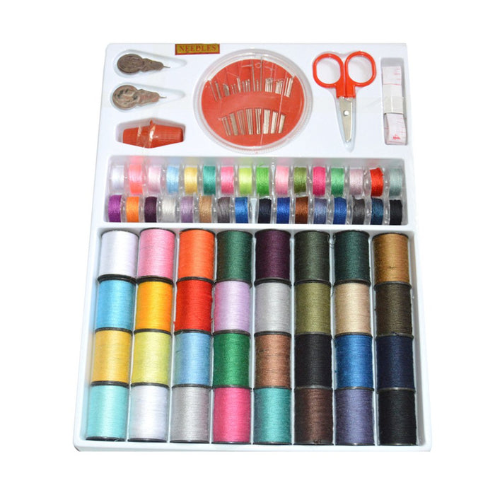 Portable Sewing Box Kitting Needles Kits Tools