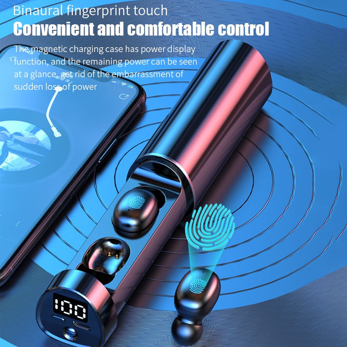 Earbuds Touch Control Wireless Bluetooth 5.1