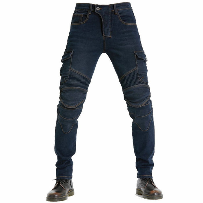 Anti-fall Riding Motorcycle Pants With Protective Gear