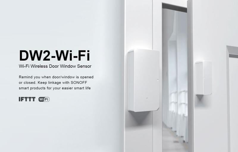 Smart WiFi Safe Door Window Sensor Alarm Automation Security Lock