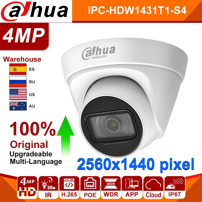 Dahua 4MP IP Security Camera For Home Office