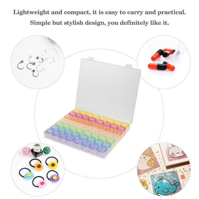 Earring Jewelry Container Art Jewelry Case Organizer Convenience Box