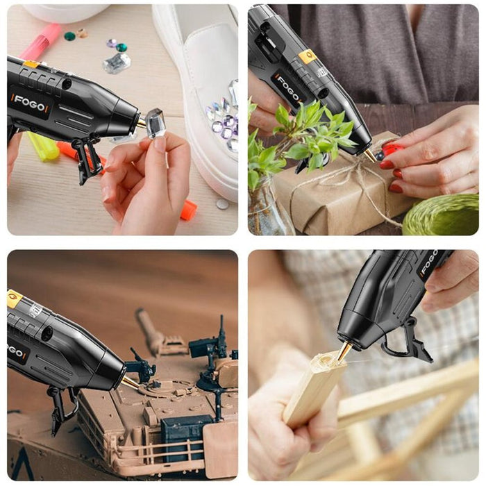 New High Temp Heater Melt Hot Glue Gun 40W DIY Household Industrial Heat