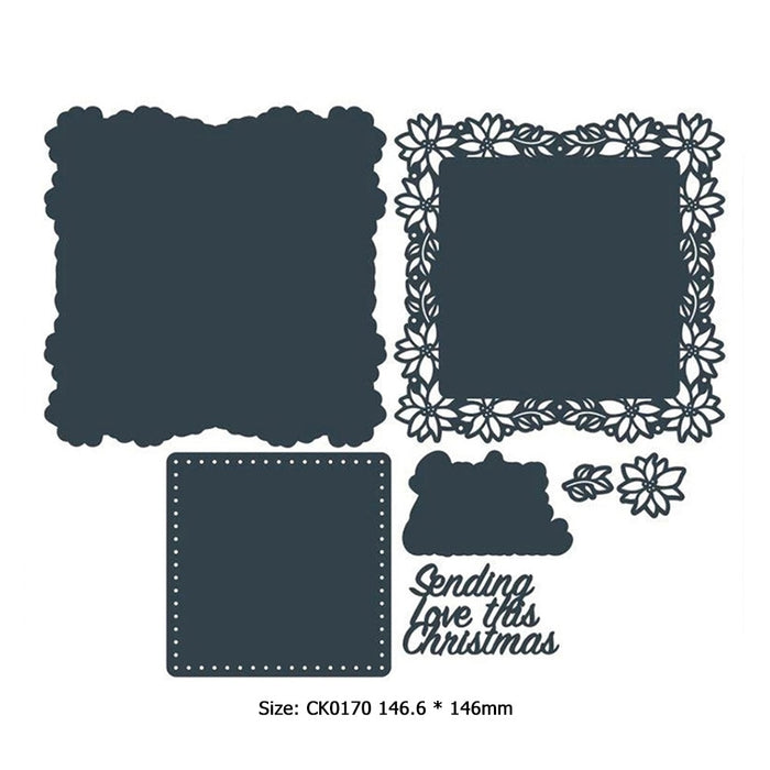 Stencils Embossing Stencil Decorative Cutting Dies Embossing Card Craft