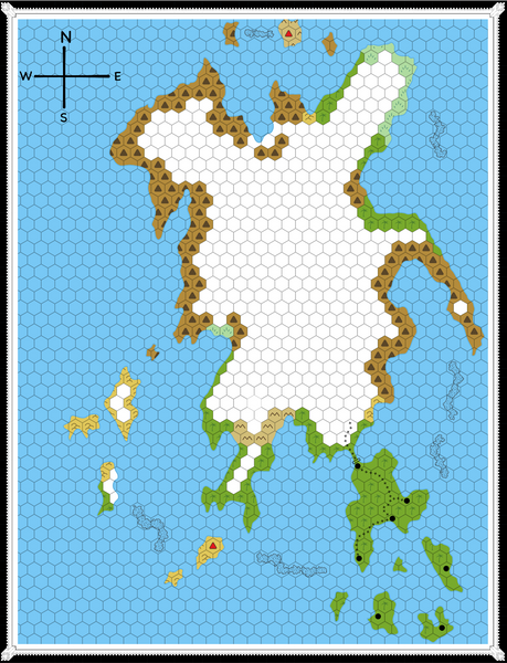 Isle of Dread Player Map
