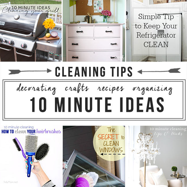 Quick and Easy Cleaning Tips and Ideas