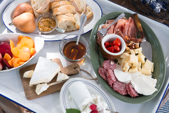 Cheese-meat-maple-platter