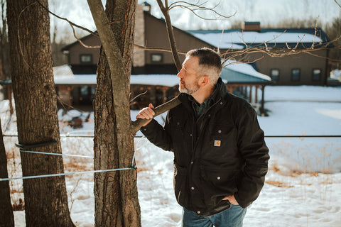 Finding Home Farms - Dana Putnam Organic Maple Syrup NY