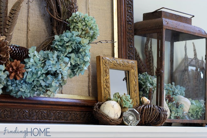 Fall-Mantel-Gold-Accents