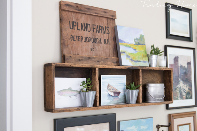 Farmhouse Style Gallery Wall - Simple Updates