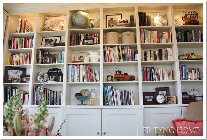Finding Home Book Case View