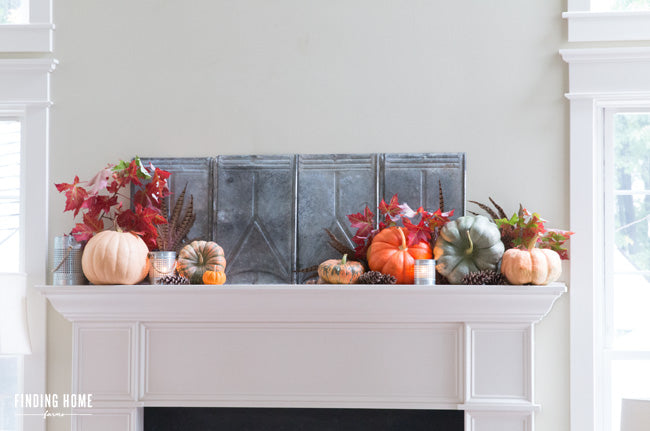 French-Country-Fall-Mantel