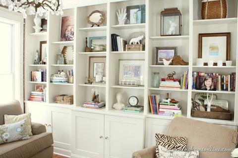 Styled Bookcase