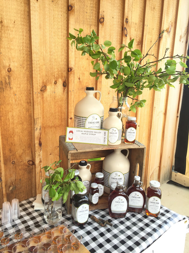 Hudson-Valley-Maple-Syrup-Display