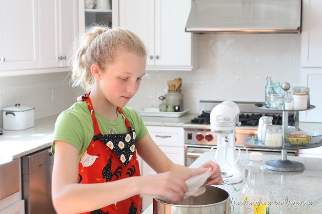 Baking Cupcakes with Kids