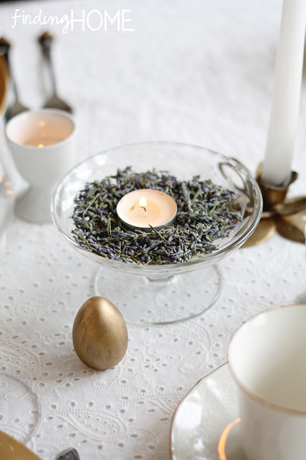 Lavender-Candle