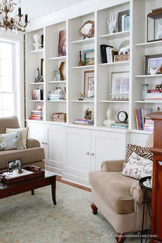Lessons Learned in Styling Bookcases