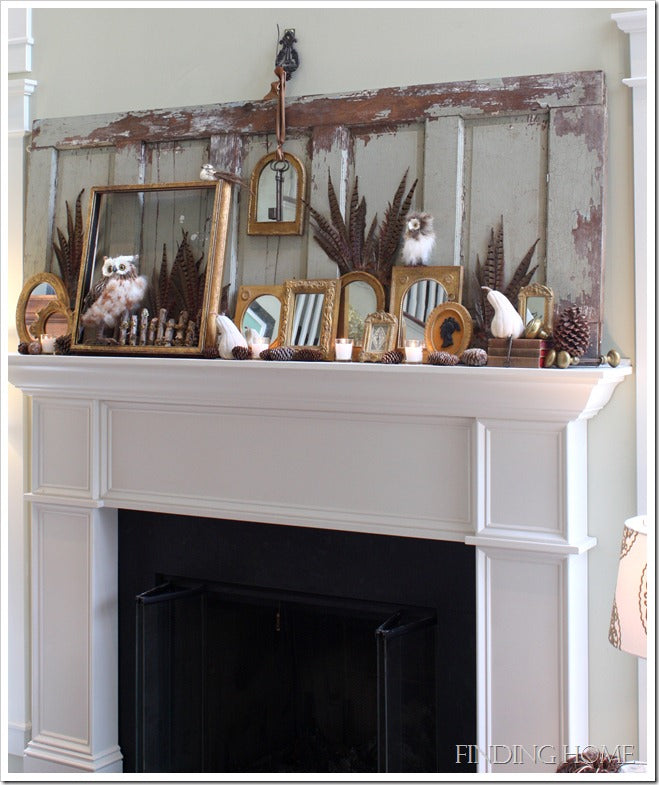Mike and Jack, Fall mantel 211