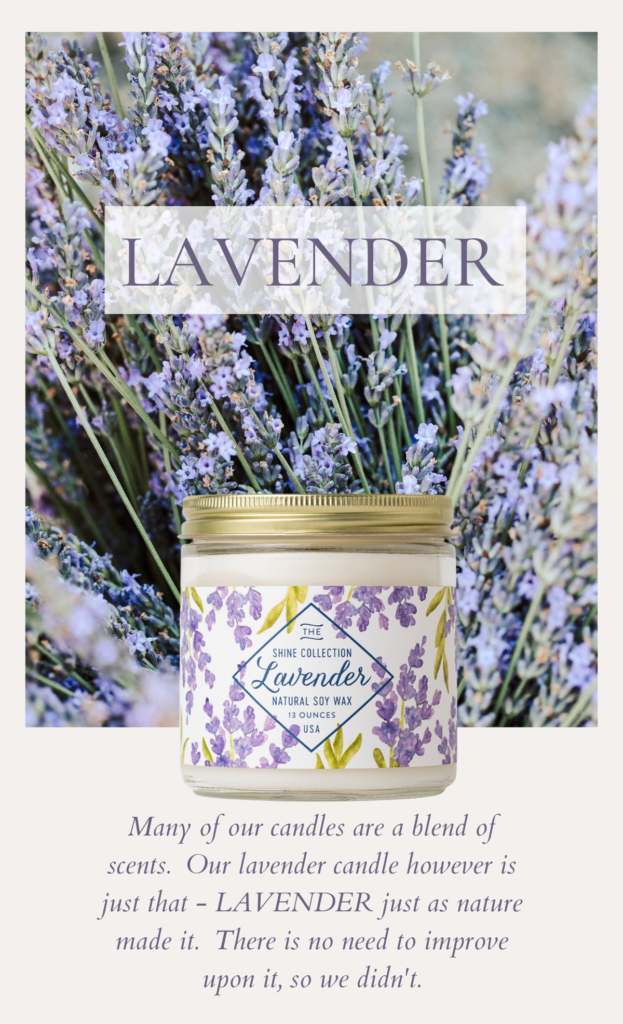Lavender Soy Candles - Finding Home Farms