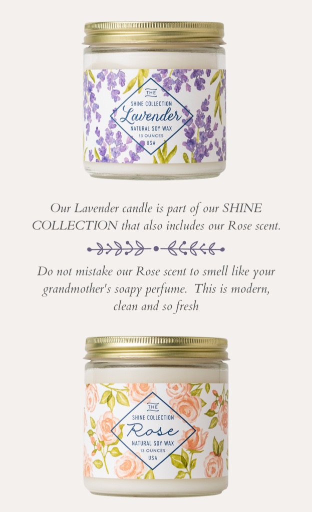 Shine Collection Soy Candles - Finding Home Farms of Hudson Valley