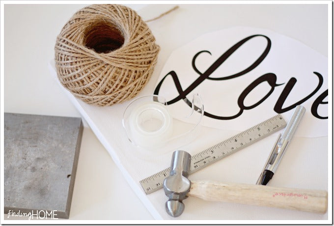 Twine Embroidery Canvas Supplies