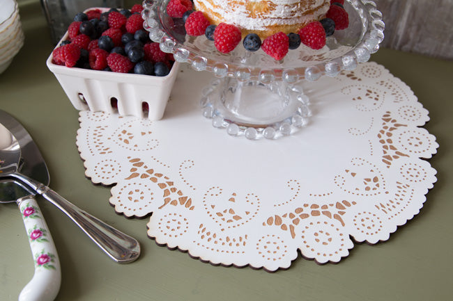 Wooden-Doily