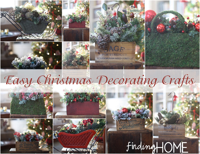 Easy Christmas Decorating Crafts