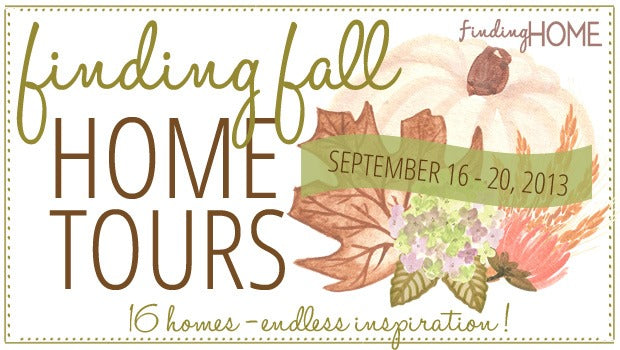 Finding Fall Home Tour - 16 Bloggers and BHG sharing fall decorating ideas.