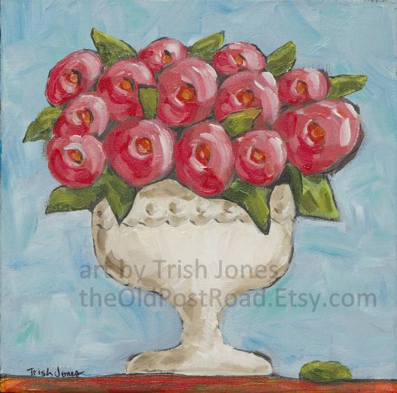 Camellias in a Compote