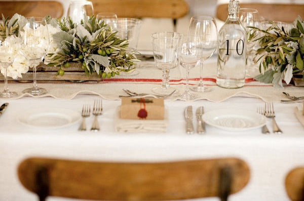 Place Setting-Napa Wedding-The Bride's Guide-Style Me Pretty
