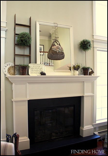 spring mantel, family room march auction 070