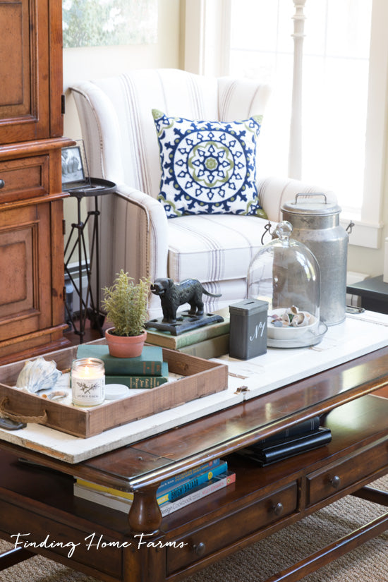 styled-coffee-table-for-summer