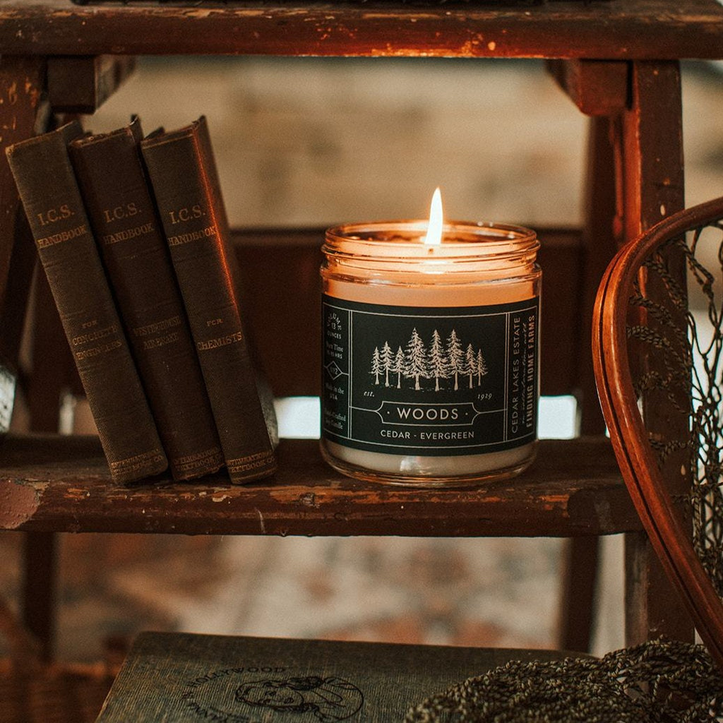 Cedar Lakes Estate - Woods Soy Candle - Finding Home Farms