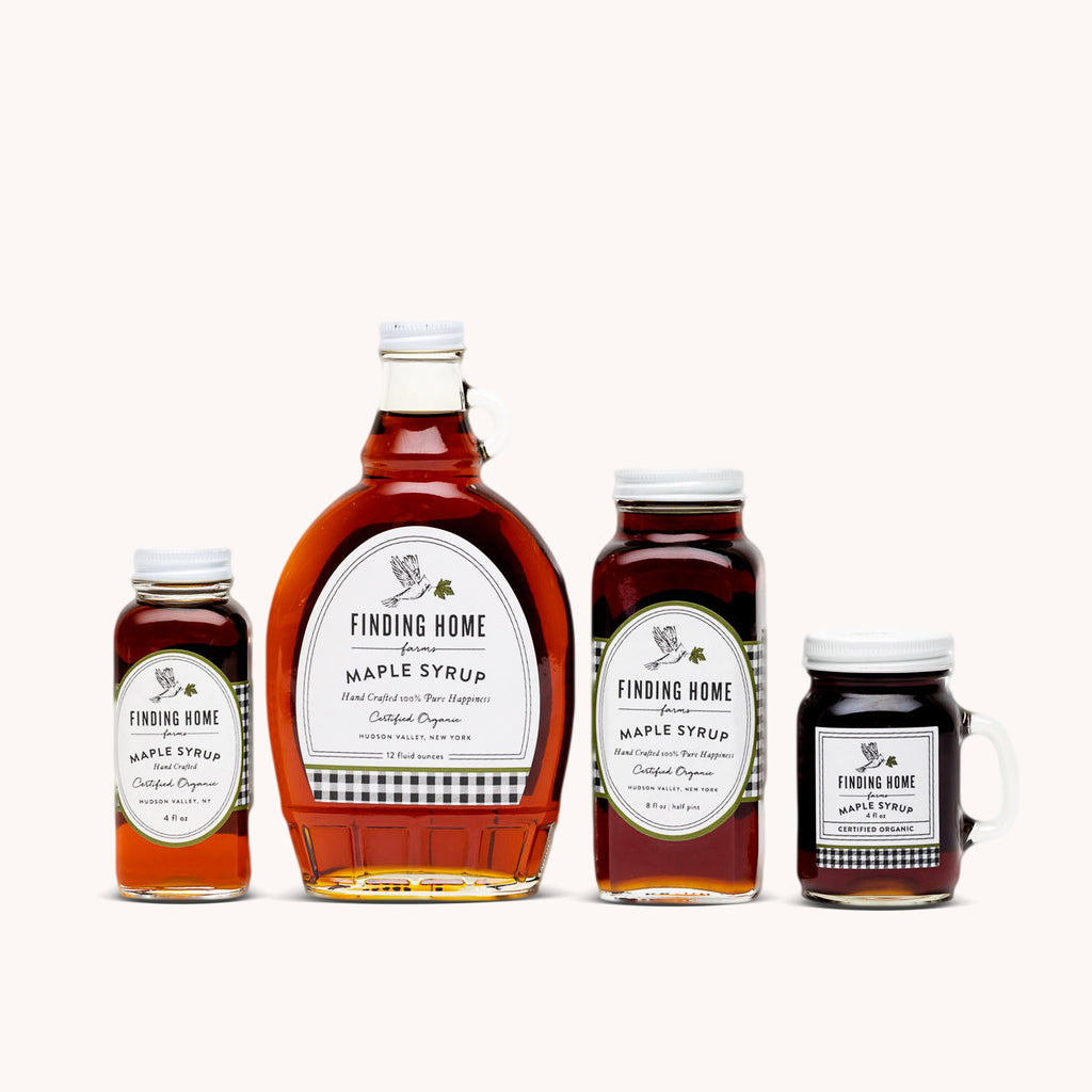 Best Real Maple Syrup - Organic Maple Syrup from NY - Finding Home Farms