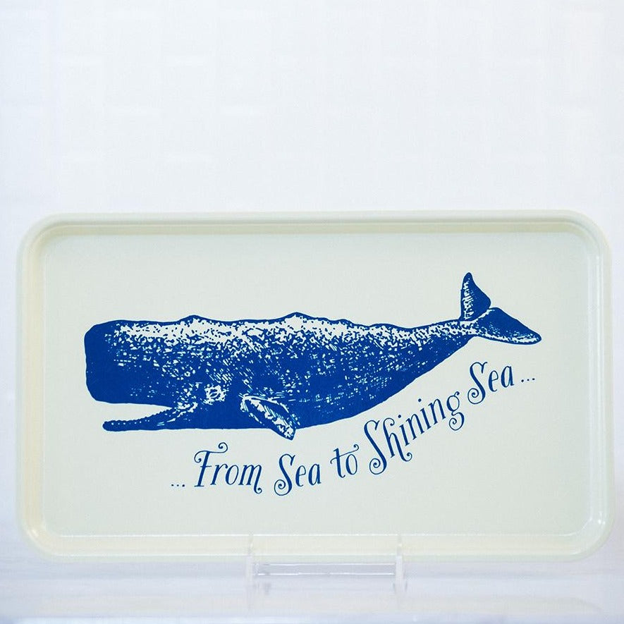 Sea to Shining Sea Tray - Large Fiberglass Serving Tray - Finding Home Farms