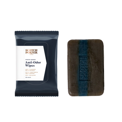 Cleansing Wipes & Body Bar Bundle