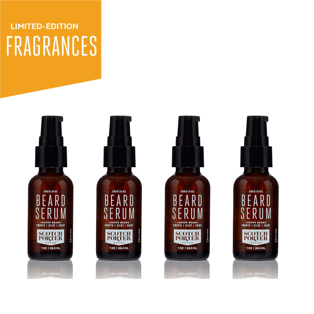 Beard Serum Collection: Limited-Edition Fragrances