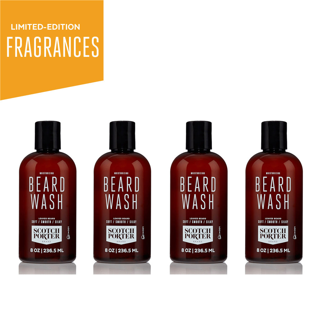Beard Wash Collection: Limited-Edition Fragrances
