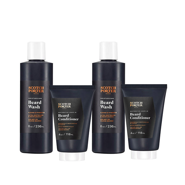 Beard Wash & Leave-In Conditioner Collection