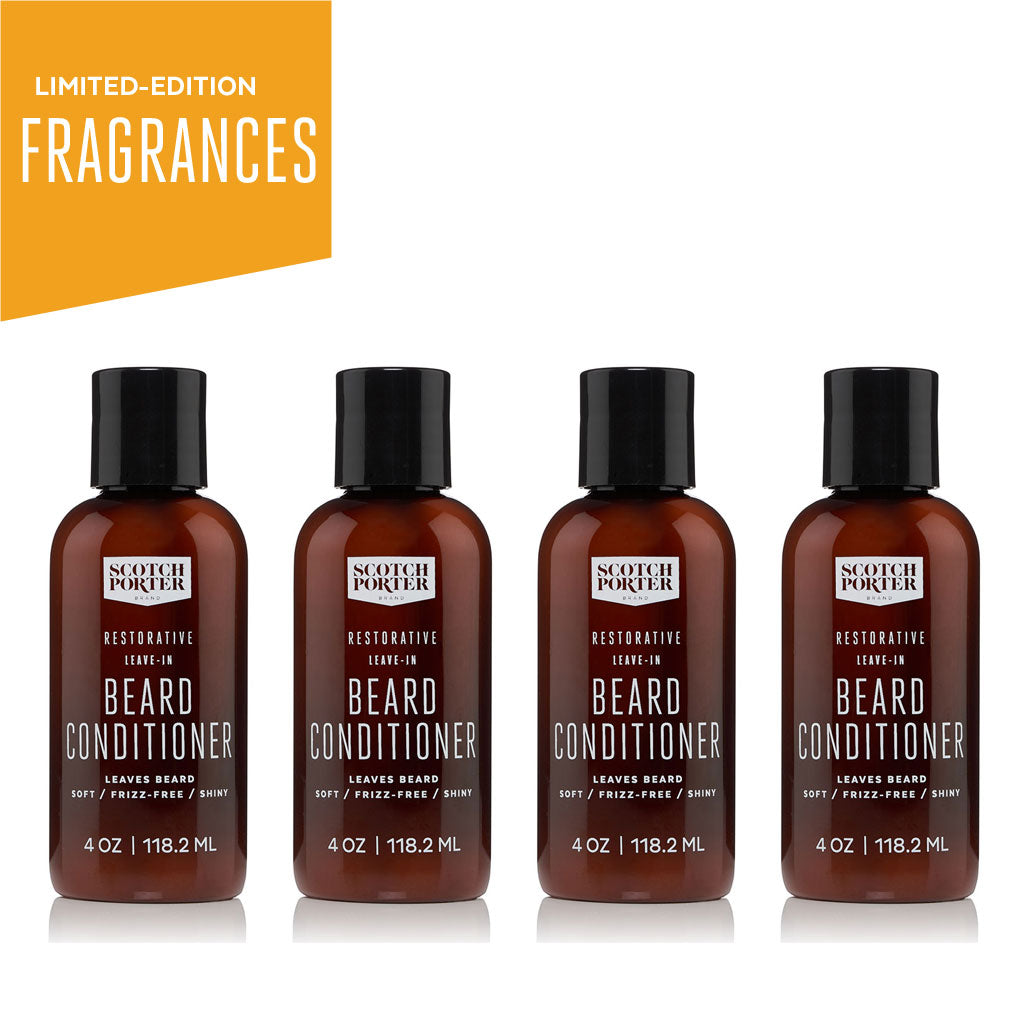 Leave-In Beard Conditioner Collection: Limited-Edition Fragrances