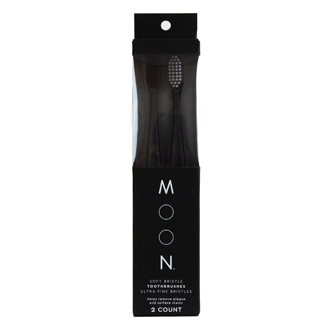 Moon Oral Care: Soft-Bristle Toothbrush (2 Pack)