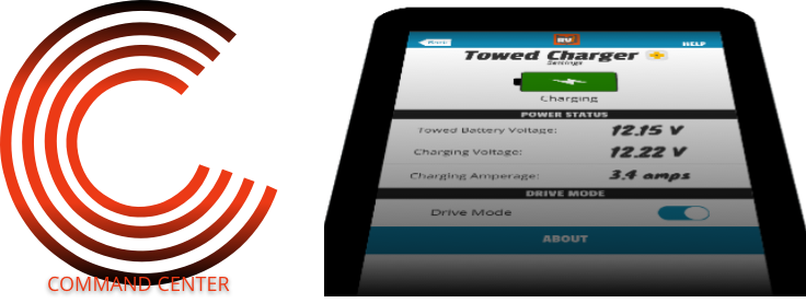 Towed Battery Charger Plus Tablet