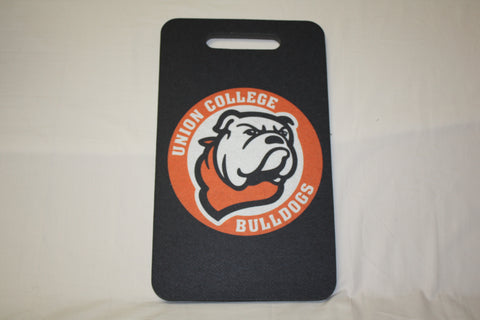 Black Seat Cushion with/ Circle Bulldog Logo