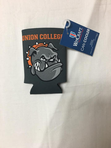 Gray Bulldog Koozie