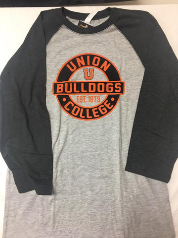 Smoke Bulldogs Raglan Tee